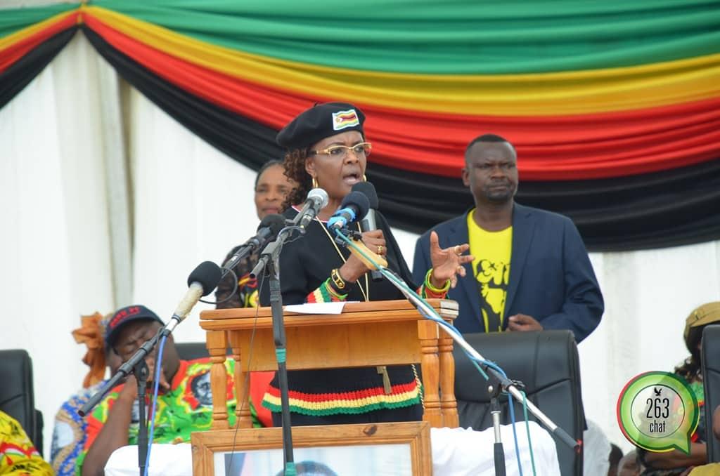 263Chat Grace Mugabe