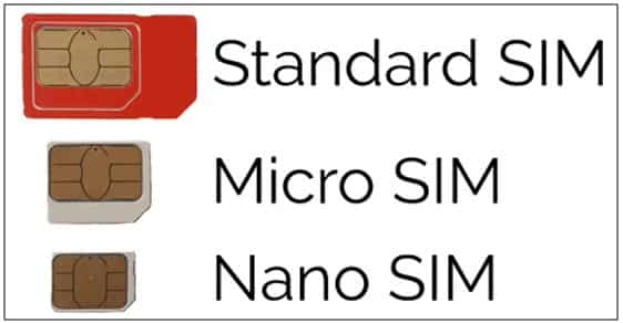 263tech What Is The Difference Between Standard Micro Nano Sim