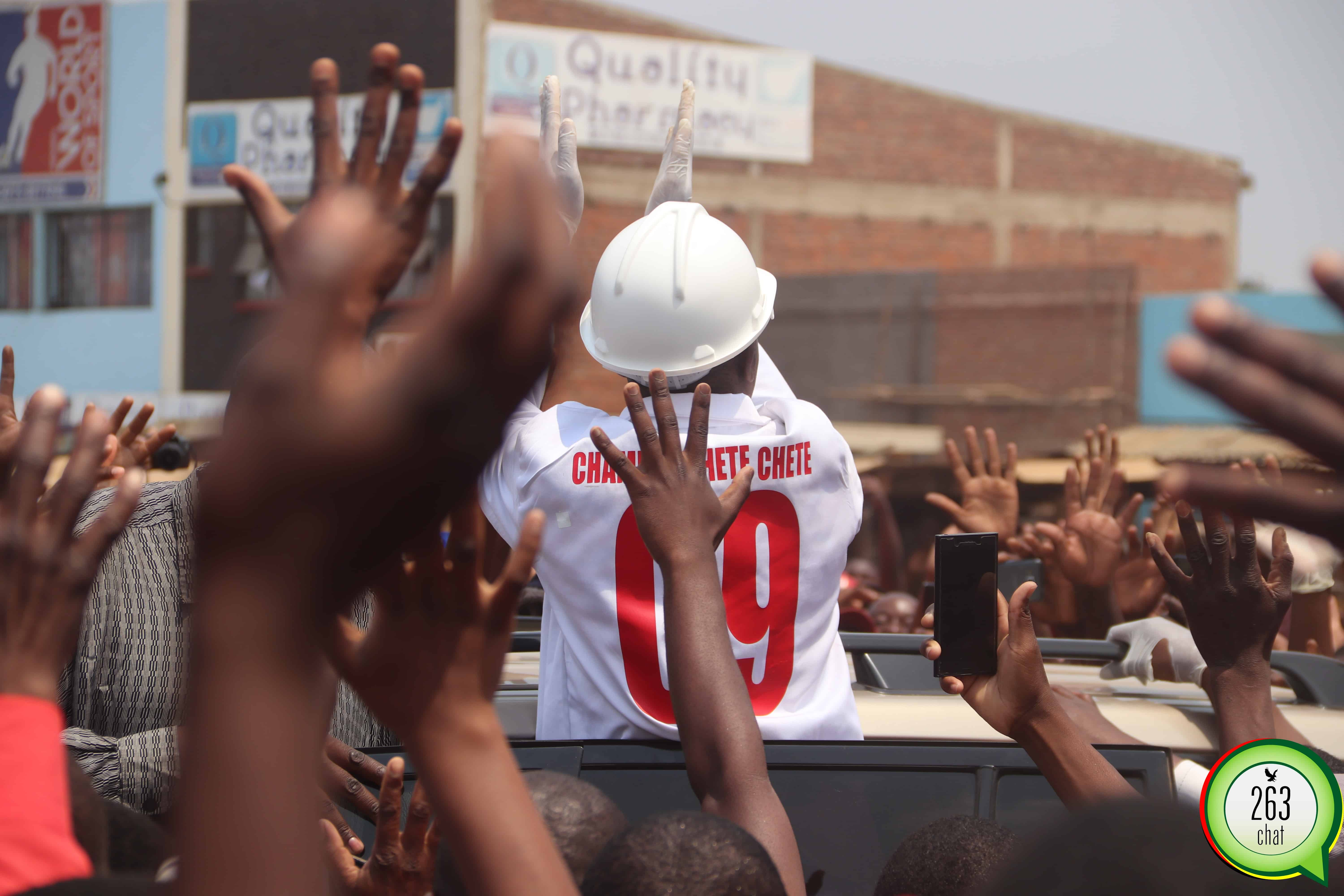 Pictures: Massive Crowd At Chamisa Clean Up Campaign » 263Chat